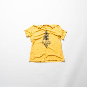 Below the Belt - Yellow Tee